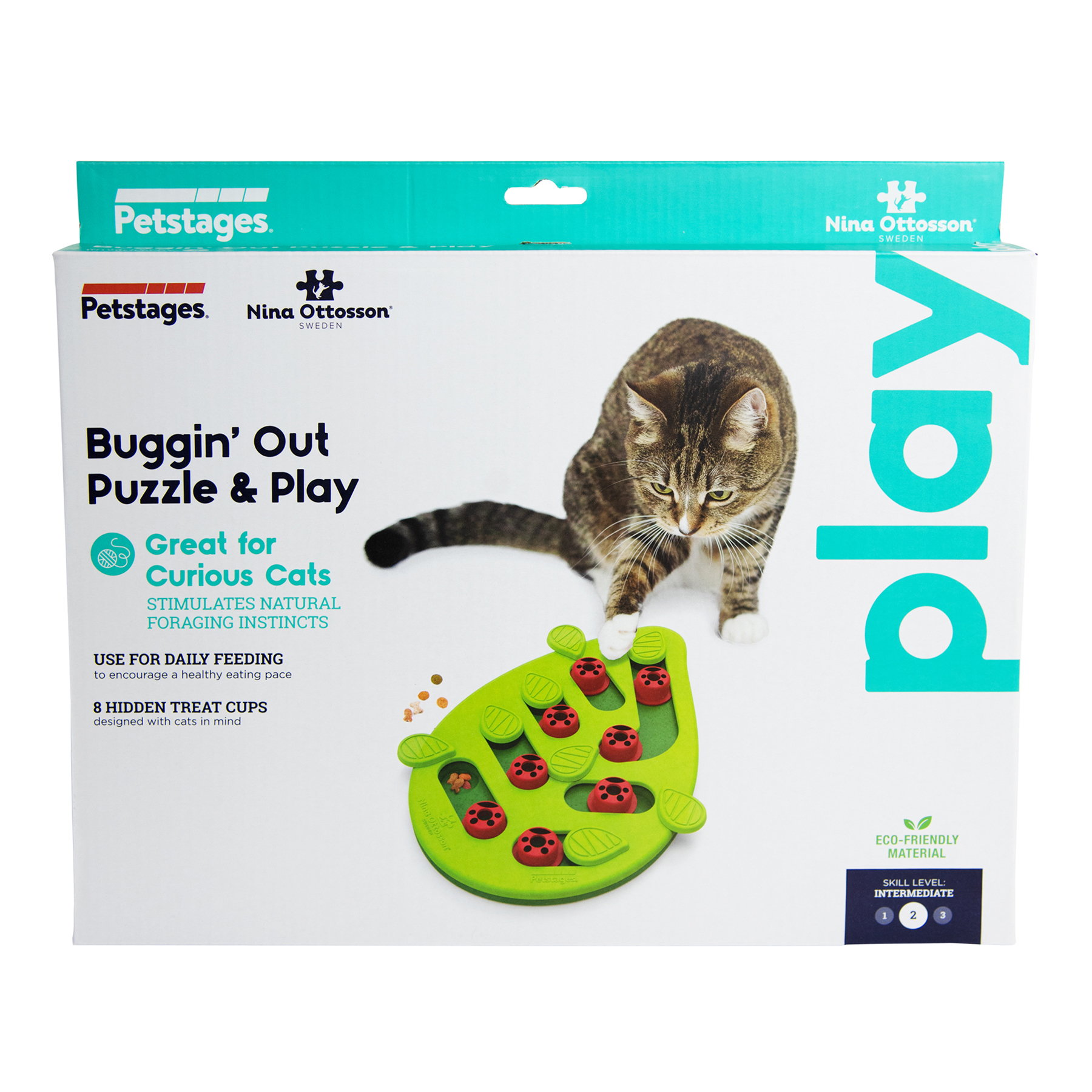 69479 Petstages NinaOttosson PuzzleAndPlay BugginOut Grn Main2