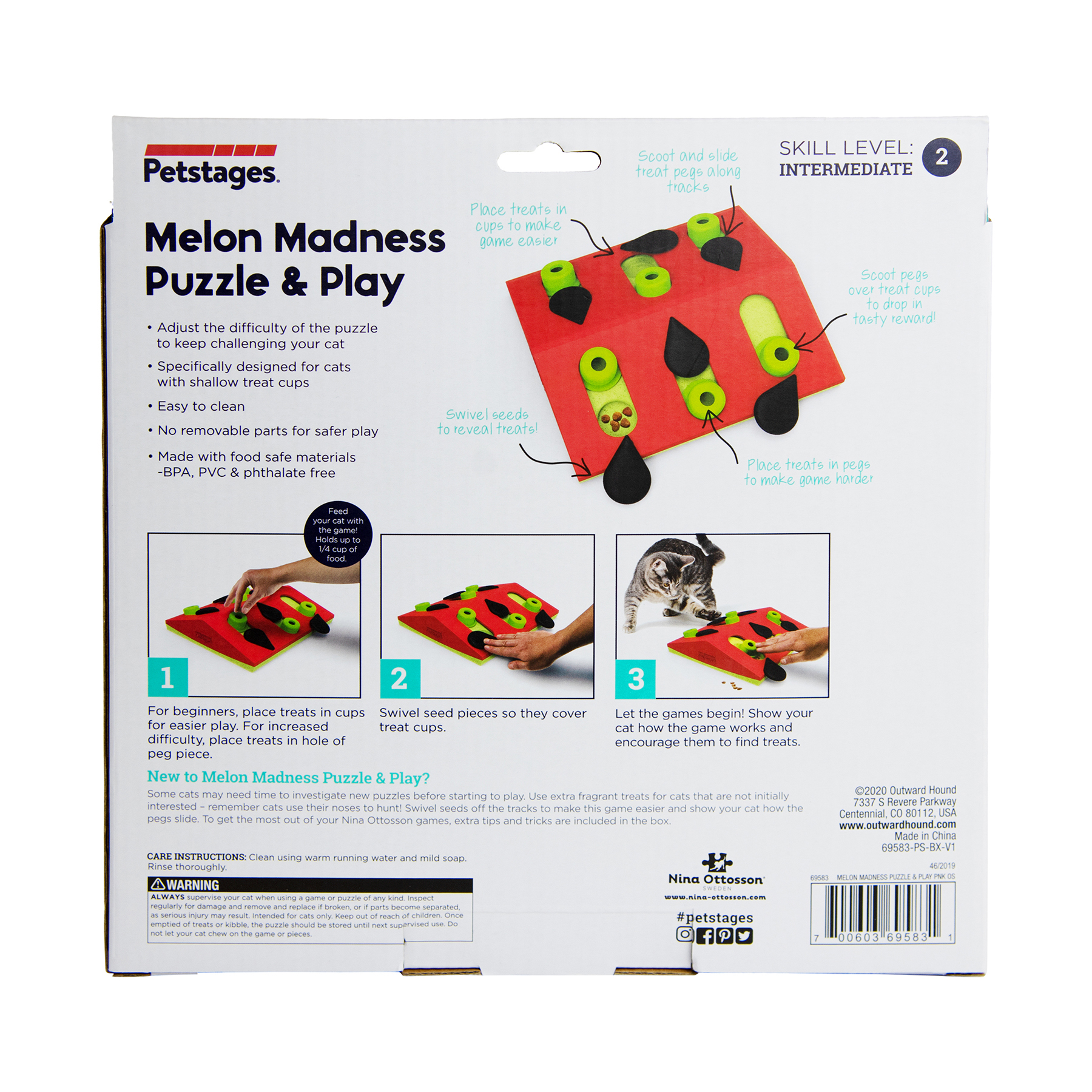 69583 Petstages NinaOttosson PuzzleAndPlay MelonMadness Pnk SHOT1